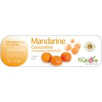 Tangerine puree